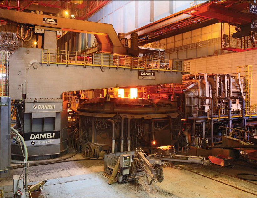 Figure 4: World's largest DC arc furnace in the steel industry (175 MW)